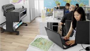 Hewlett-Packard Large Format Printers